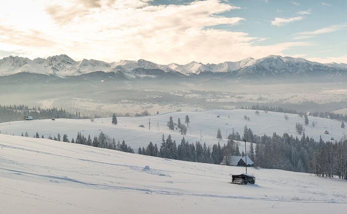 The Polish Tatra mountains.
