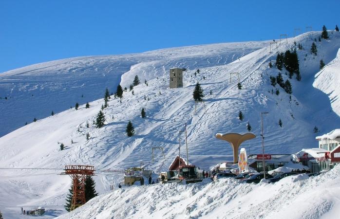 A view of the Popova Sapka resort.