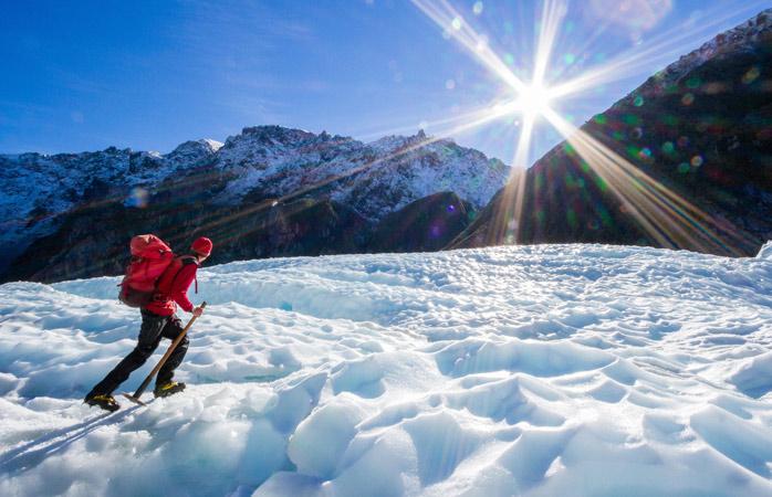 Glacier-trekÔÇôFox-Glacier-cross-country-ski