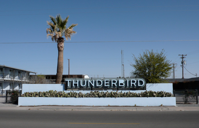 Thunderbird in two words: retro modern © <a title=