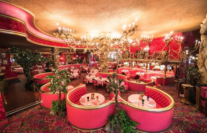 The Gold Rush Steak House at Madonna Inn