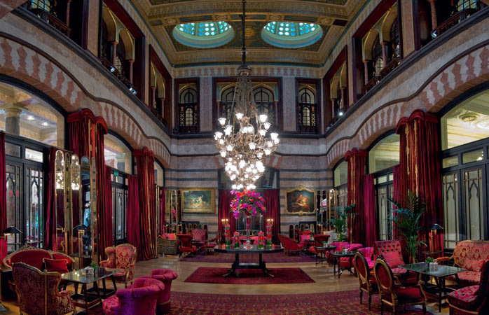 East meets west: the Kubbeli Saloon Tea Lounge