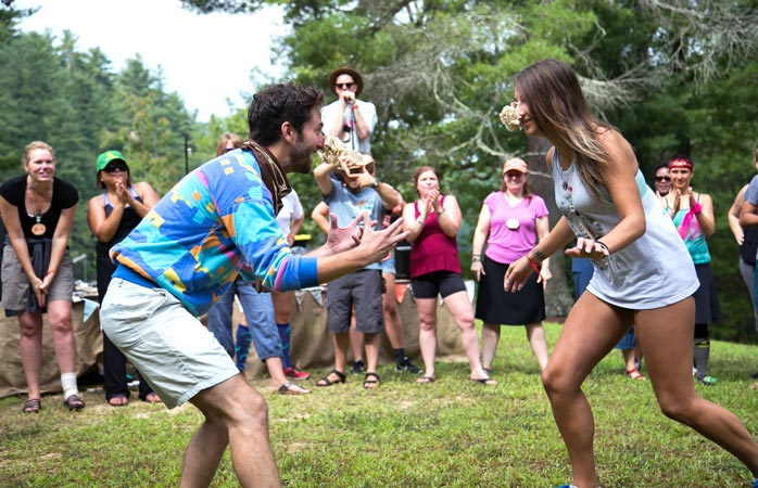 Where mobile service ends, the real fun begins at Camp Grounded