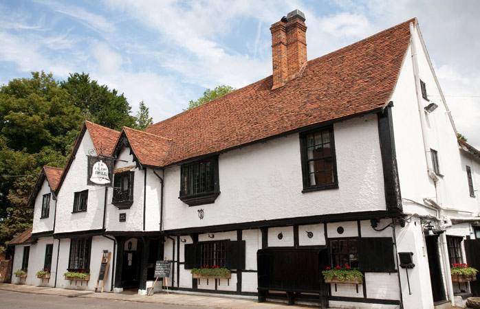 The main inn at The Olde Bell