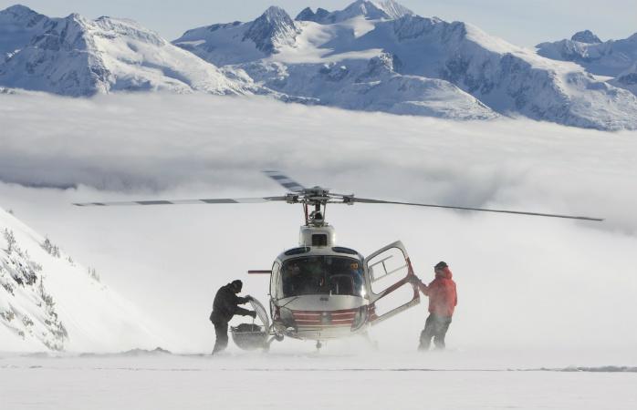 Find amazing heli-skiing all over British Columbia