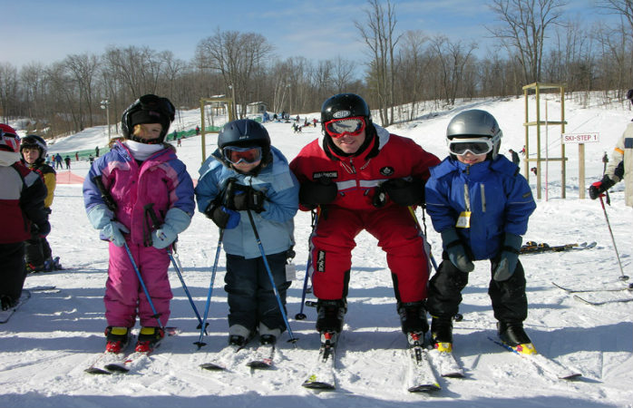 Kids are well catered for Calabogie ski resort
