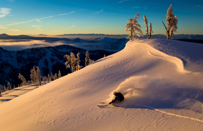 You'll find some of the best backcountry terrain on the planet