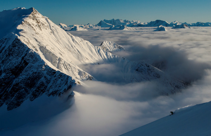 Central British Columbia has some of the world's best heli-skiing