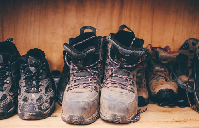 Find the right fit to keep your feet happy during your hike