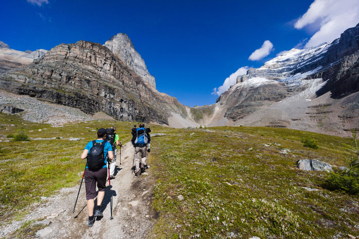 Banff has excellent hiking routes for hikers of all levels