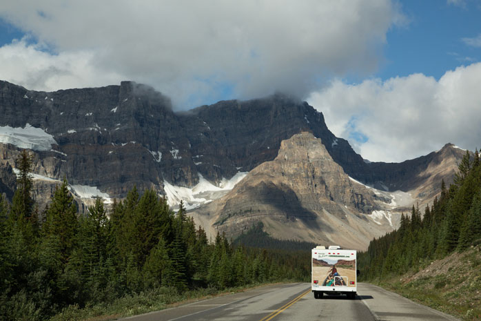 It's a 90-mile transfer from Calgary to Banff, so make sure to rent a vehicle in advance