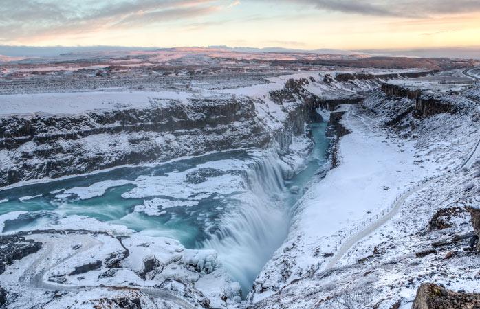 Awe-inspiring and surreal – Gullfoss Waterfall