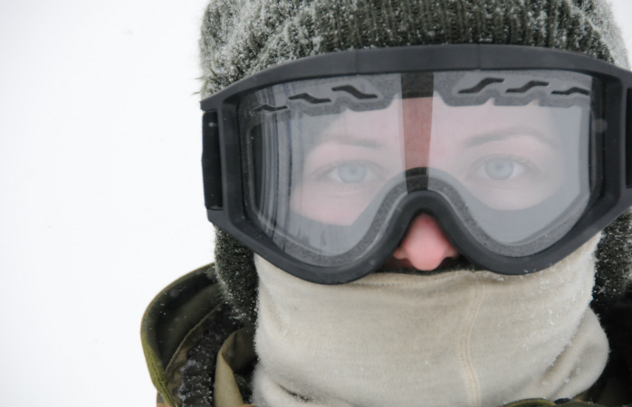 Ski goggles aren't only safer, they're also warmer