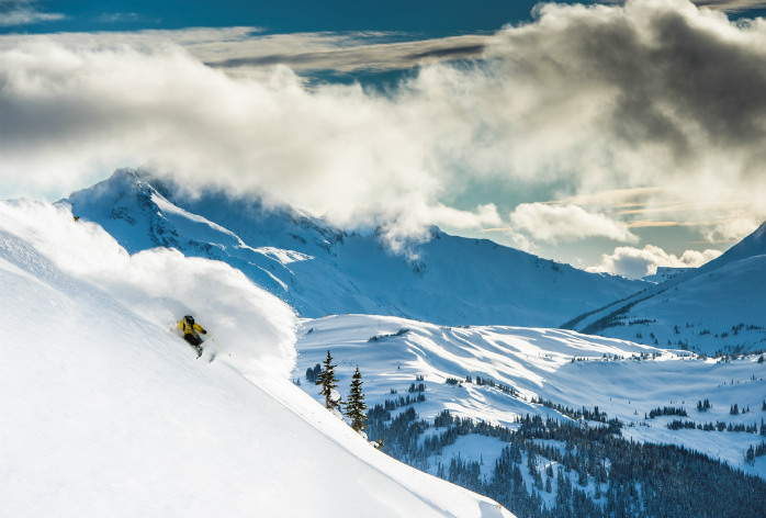 Whistler-Blackcomb is North America's largest ski resort