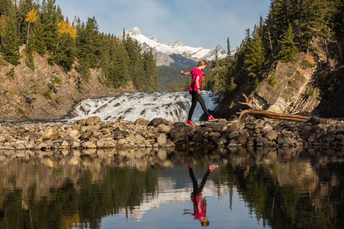 The best time to visit Banff is July to mid September, when temperatures are warmer