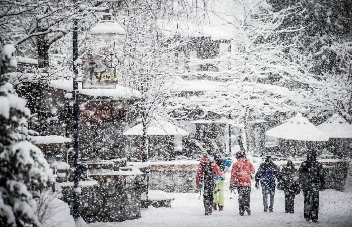 Whistler is like the Disney World of ski resorts with the resort village right next to the slopes