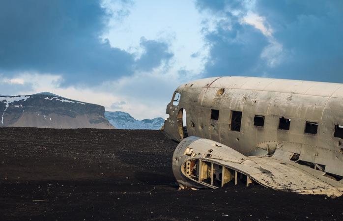 The Sólheimasandur plane wreck is a sight to behold