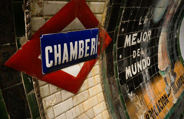 Chamberi Metro Station – where past adventures launched