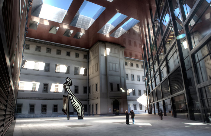 Plenty of room for arty conversations at Reina Sofia