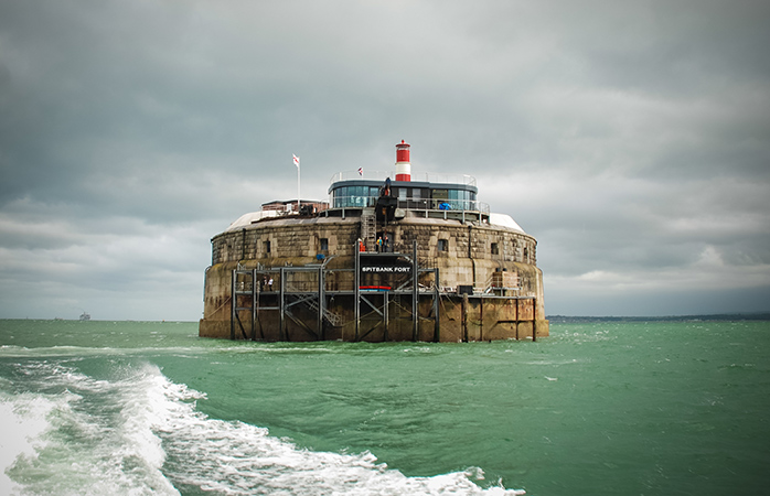 The Spitbank Fort may not look like much on the surface. Venture inside for a peerless luxury experience