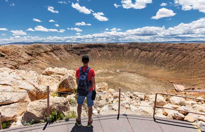 It's basically a really big hole. But then so is the Grand Canyon