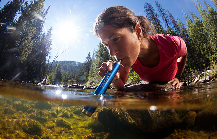 Water, water everywhere - and all of it is available to drink with this handy travel gadget