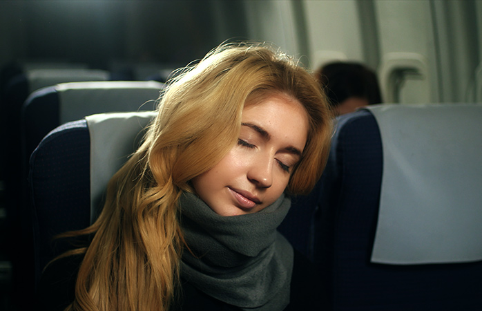 You too could be this comfy with a Trtl pillow, one of our favourite travel gadgets