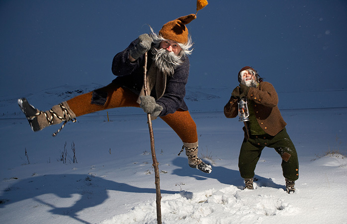 Icelandic Yule Lads run amok this time of year in one of the more fun and mischievous Christmas traditions