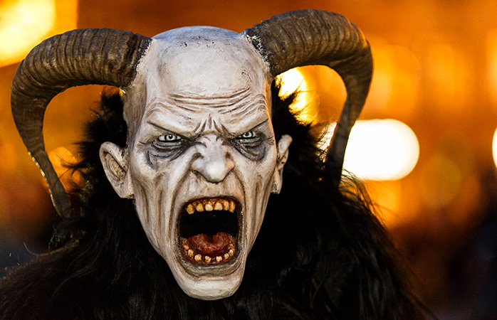 Scaring kids into the festive spirit, Krampus is the most chilling of Christmas traditions
