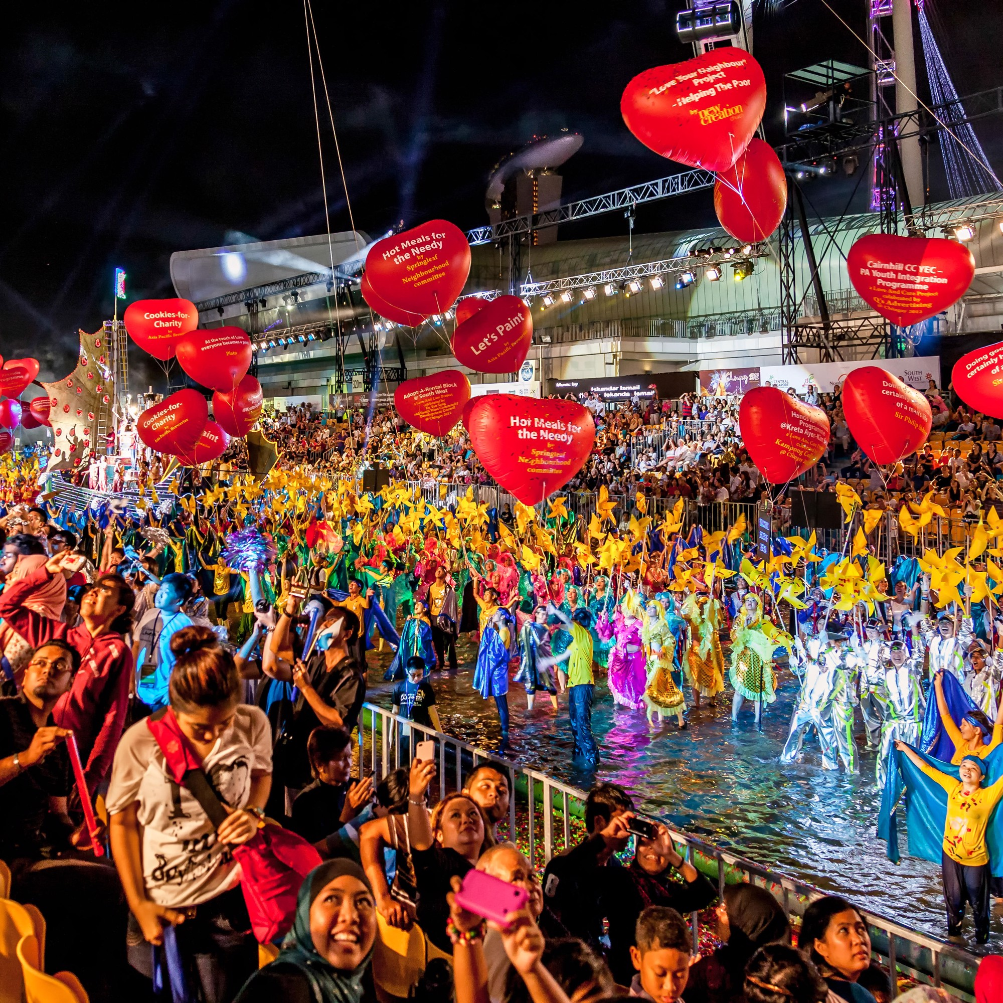Celebrate Chinese New Year in style at the Chingay Parade in Singapore – the largest of its kind in Asia