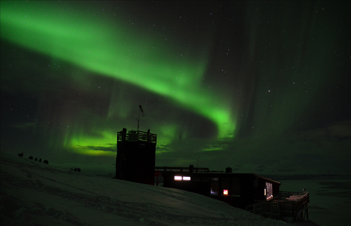 The Aurora Sky Station on Mount Nuolja.