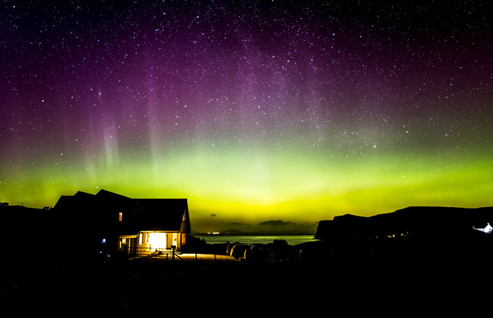 The Isle of Skye offers a front row seat to nature's light show