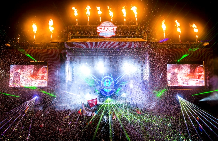 Sziget Festival is monstrous in size and scale