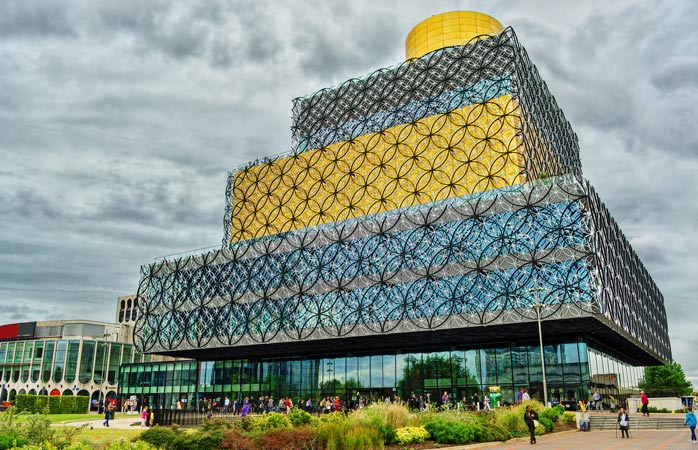 Library of Birmingham in all its glory