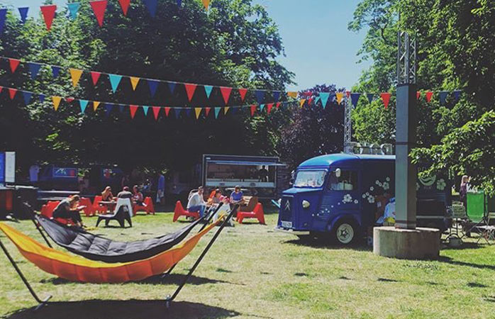 Malmö Food Truck Festival is a low-key foodie event