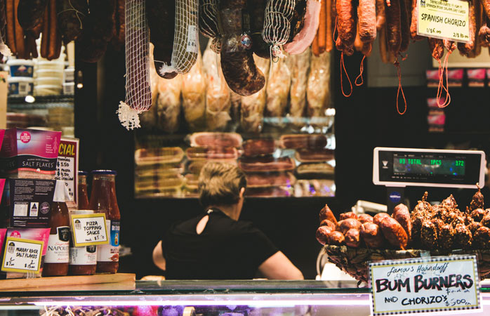 When in Melbourne, stop by a food market and taste some yummy treats