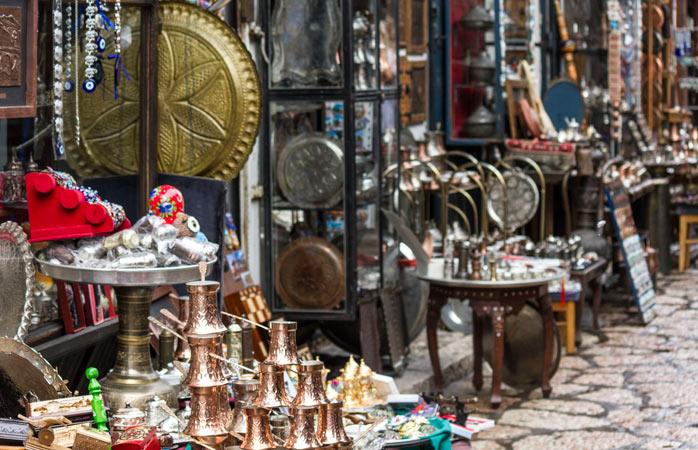 Hunt for some unique souvenirs in Sarajevo's Old Bazaar