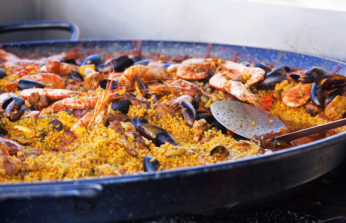 Grab a friend, or two, and enjoy one of Spain's finest dishes
