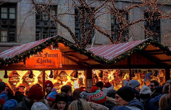 Yes, there are excellent Christmas markets outside of Europe – not least Chicago's Christkindlmarket