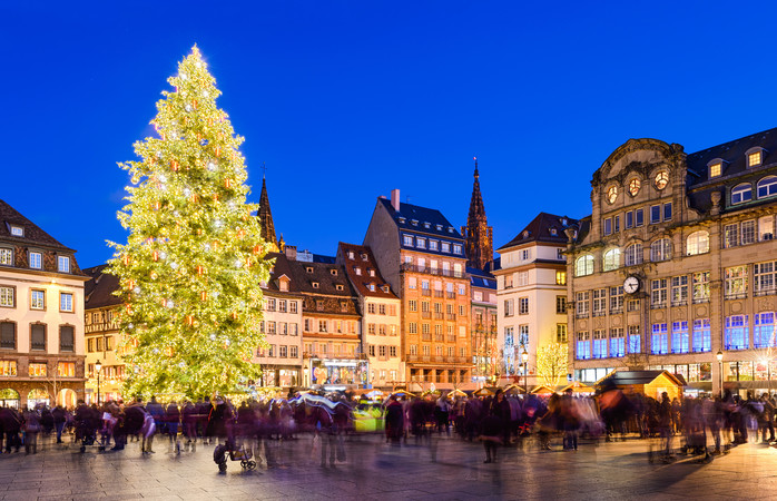 The French know a thing or two about how to put on a proper Christmas market