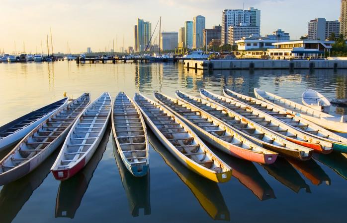 The beautiful oceanside Metropolis of Manila